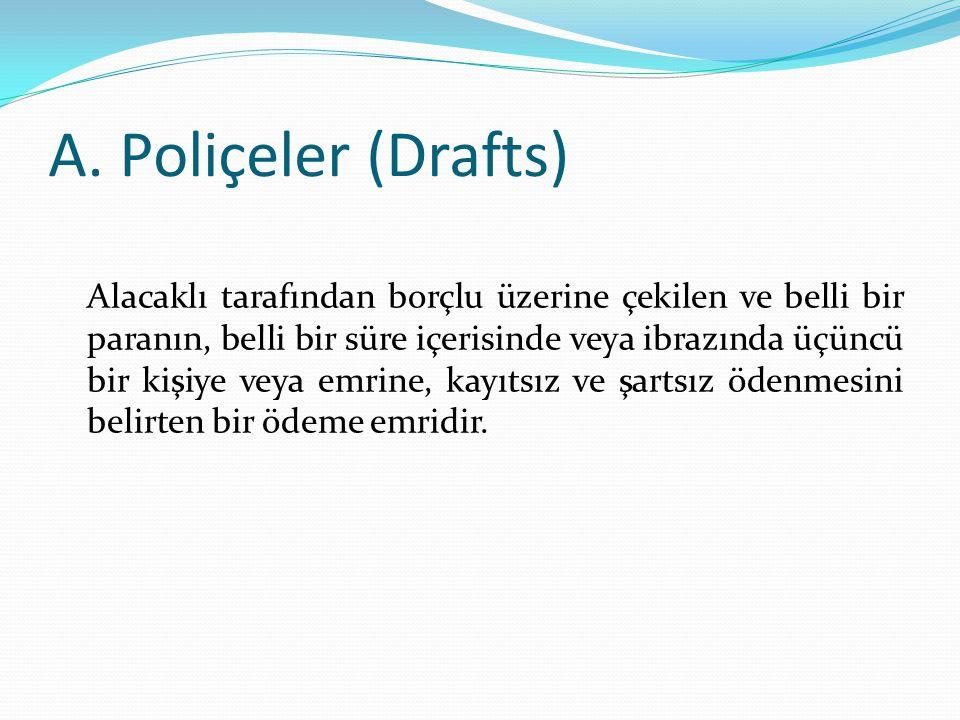 A. Poliçeler (Drafts)