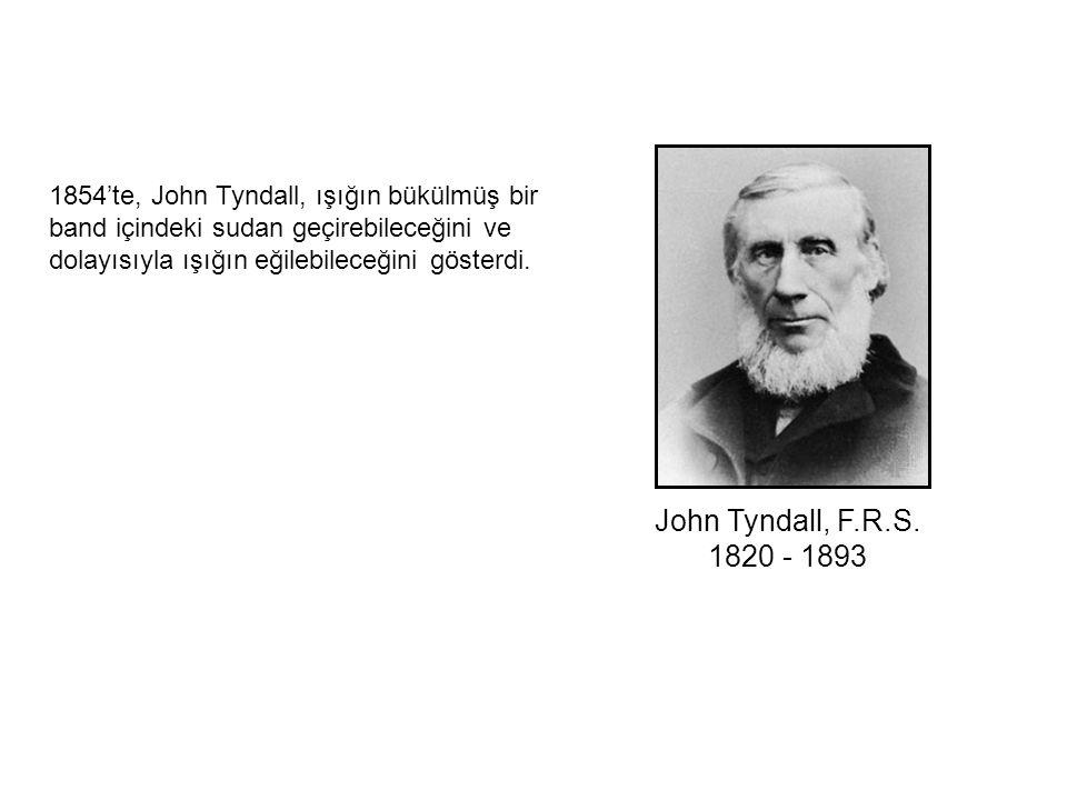 John Tyndall, F.R.S. 1820 - 1893.