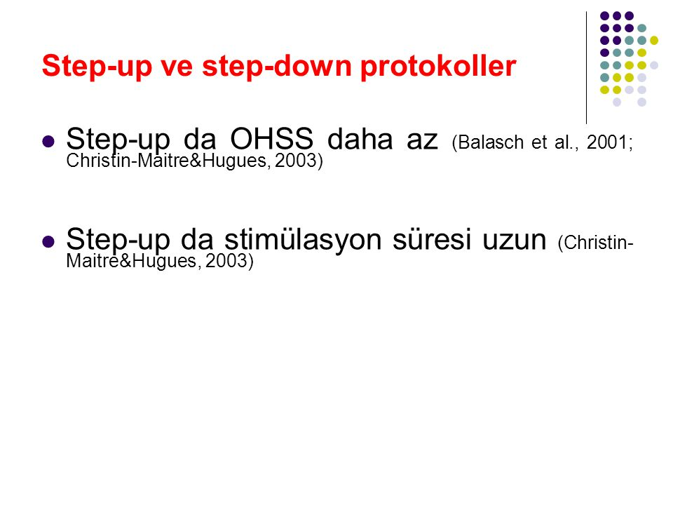 Step-up ve step-down protokoller