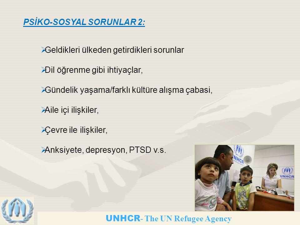 PSİKO-SOSYAL SORUNLAR 2: