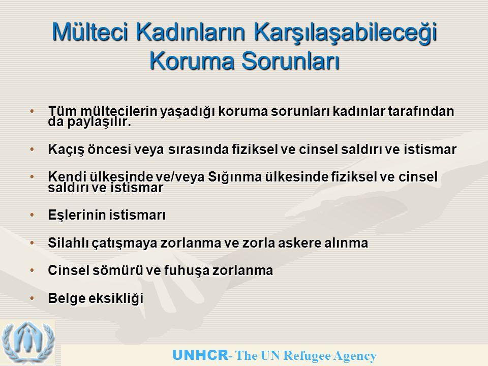 Mülteci Kadınların Karşılaşabileceği Koruma Sorunları