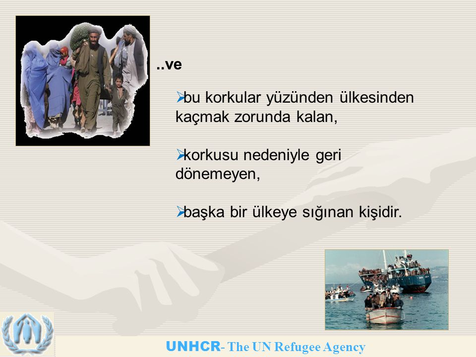 UNHCR- The UN Refugee Agency