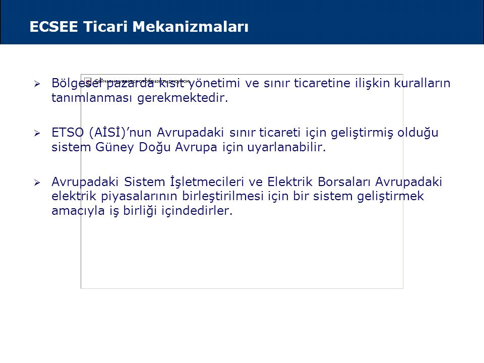 ECSEE Bölgesindeki Sınır Ticareti Mevcut Durum - I
