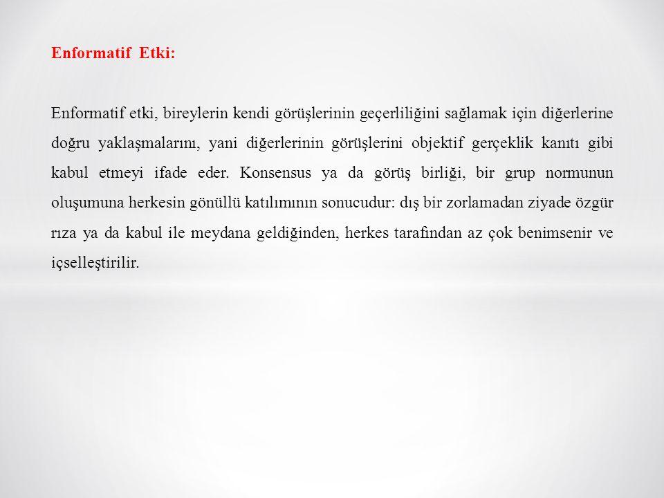 Enformatif Etki: