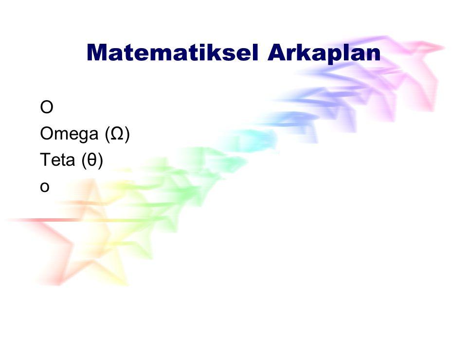Matematiksel Arkaplan