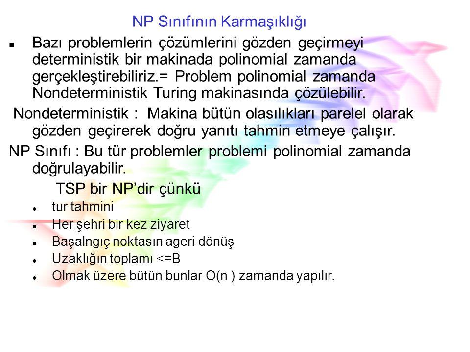 NP Sınıfının Karmaşıklığı