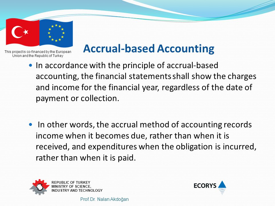 Accrual-based Accounting