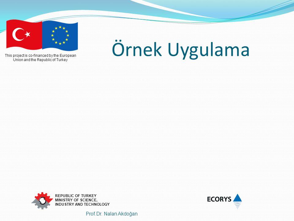 Örnek Uygulama Prof.Dr. Nalan Akdoğan