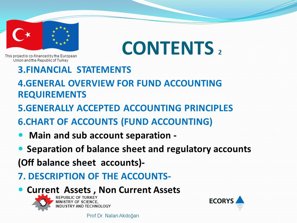CONTENTS 2 3.FINANCIAL STATEMENTS