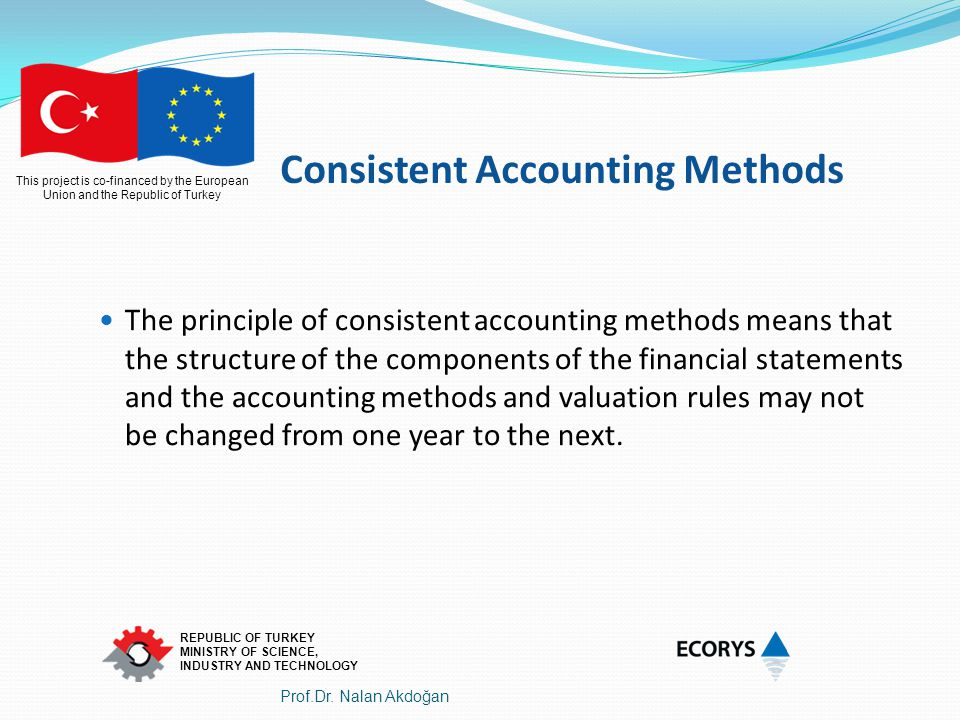 Consistent Accounting Methods