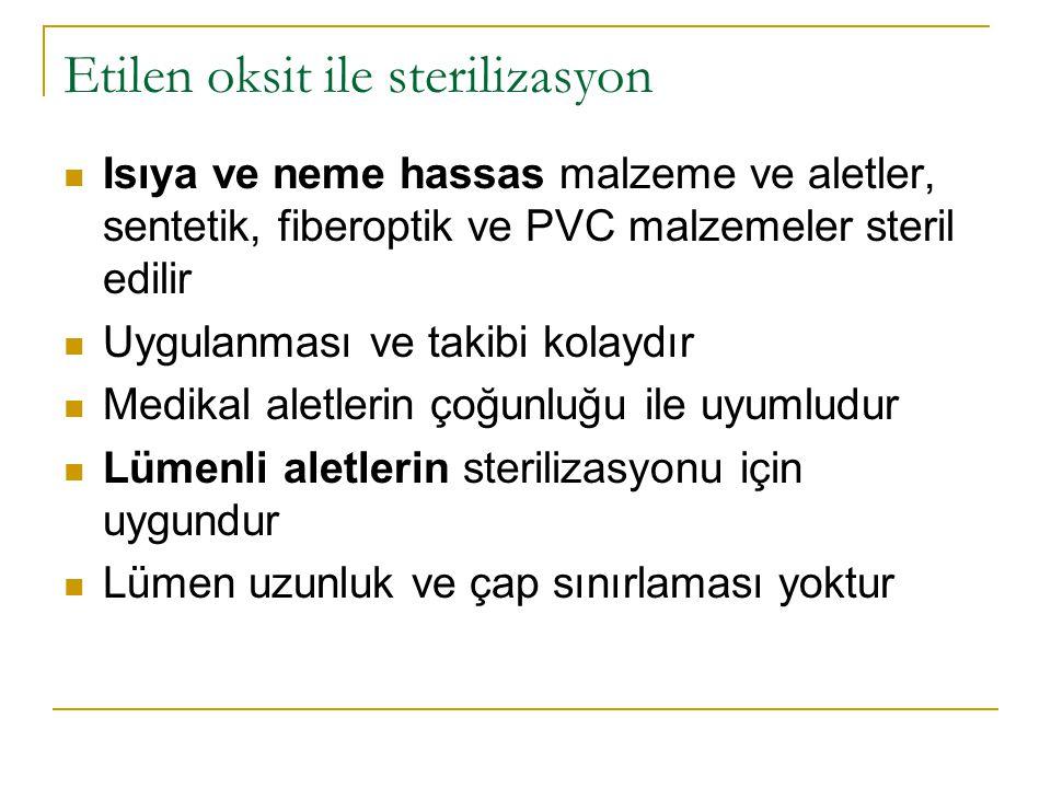 Etilen oksit ile sterilizasyon