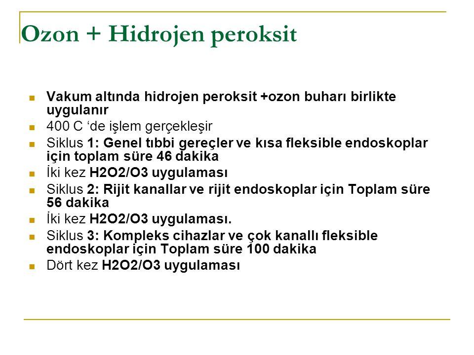 Ozon + Hidrojen peroksit