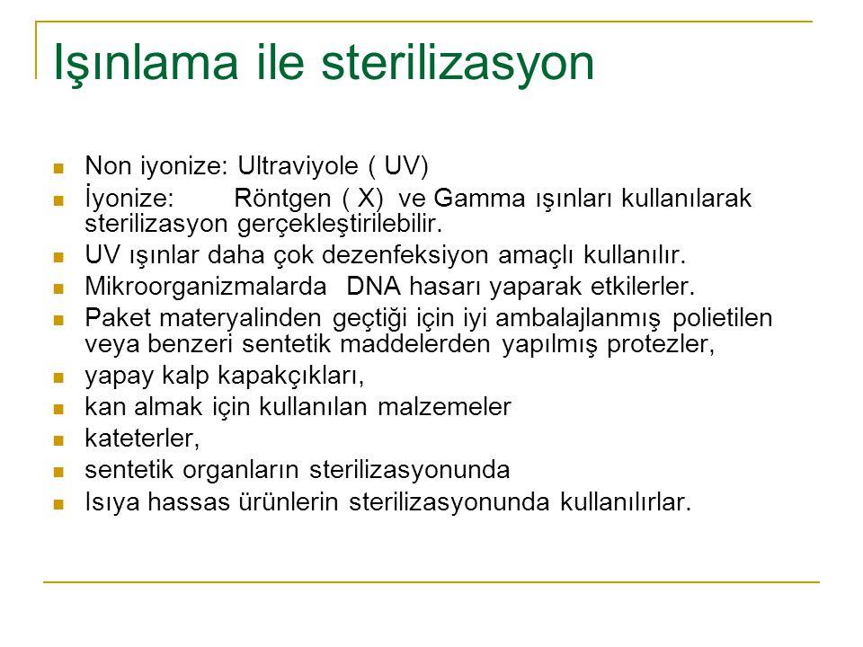Işınlama ile sterilizasyon