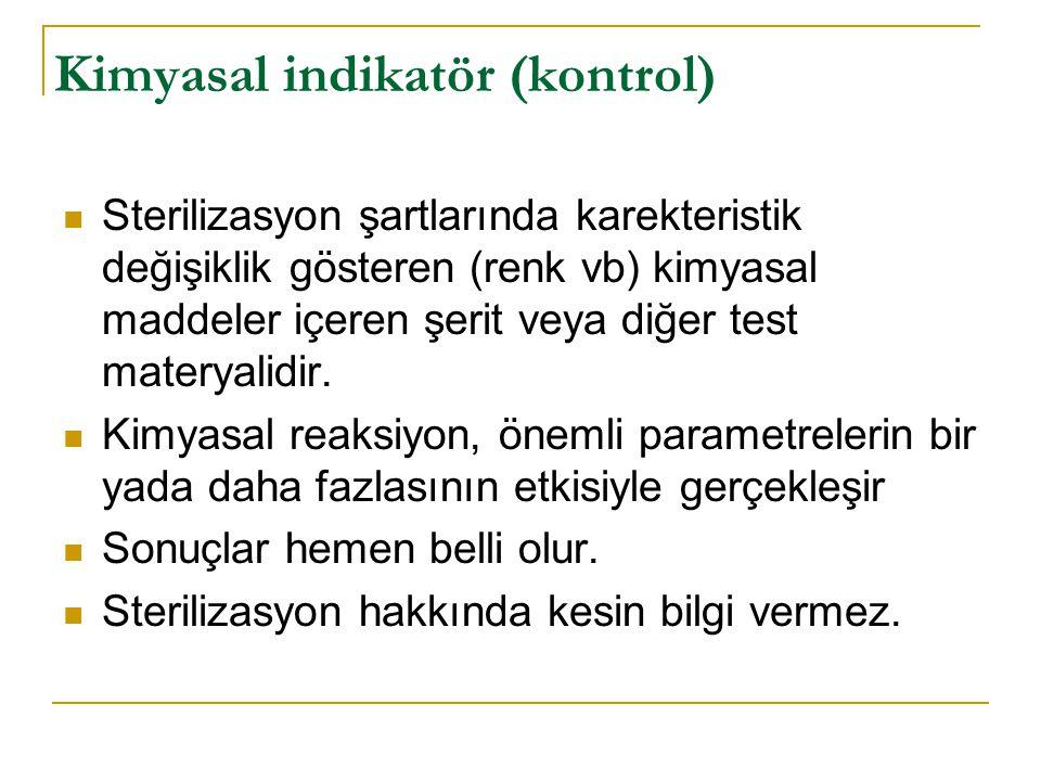 Kimyasal indikatör (kontrol)