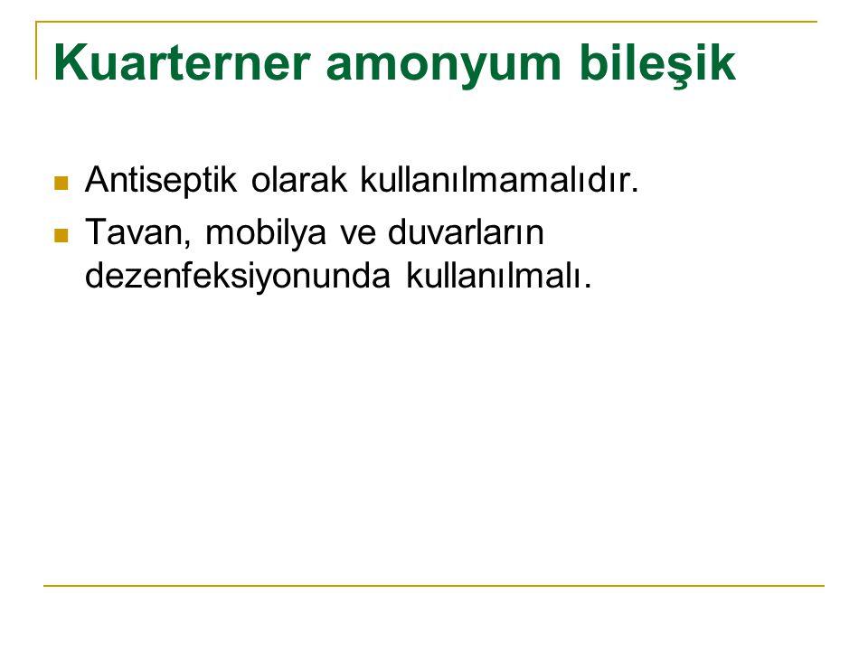 Kuarterner amonyum bileşik