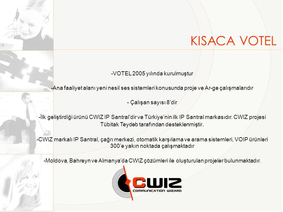 VOTEL 2005 yılında kurulmuştur