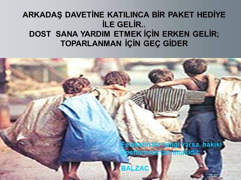 ARKADAŞ DAVETİNE KATILINCA BİR PAKET HEDİYE İLE GELİR