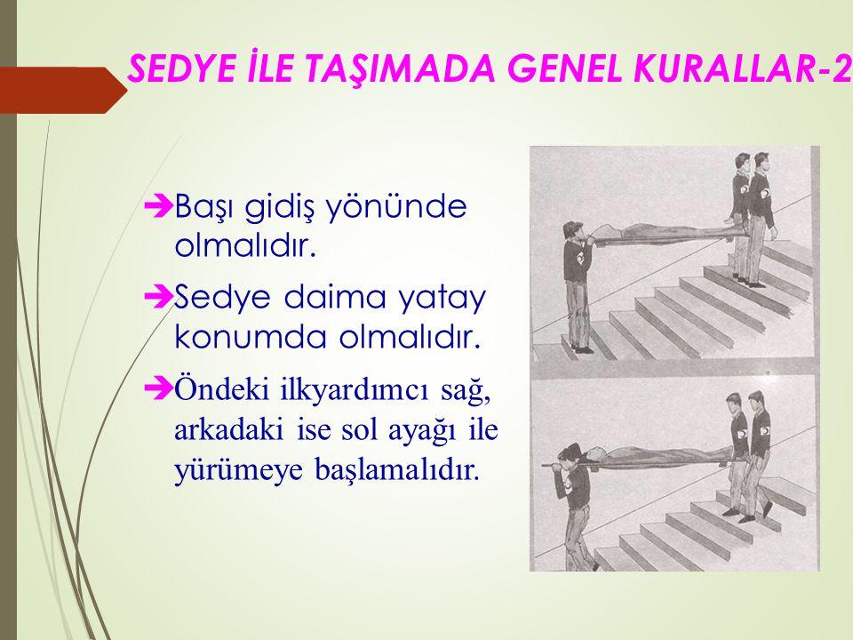SEDYE İLE TAŞIMADA GENEL KURALLAR-2