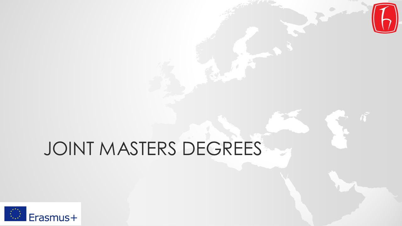 JOINT MASTERS DEGREES