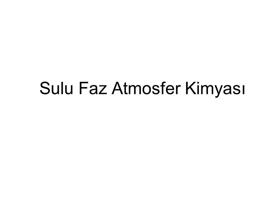 Sulu Faz Atmosfer Kimyası