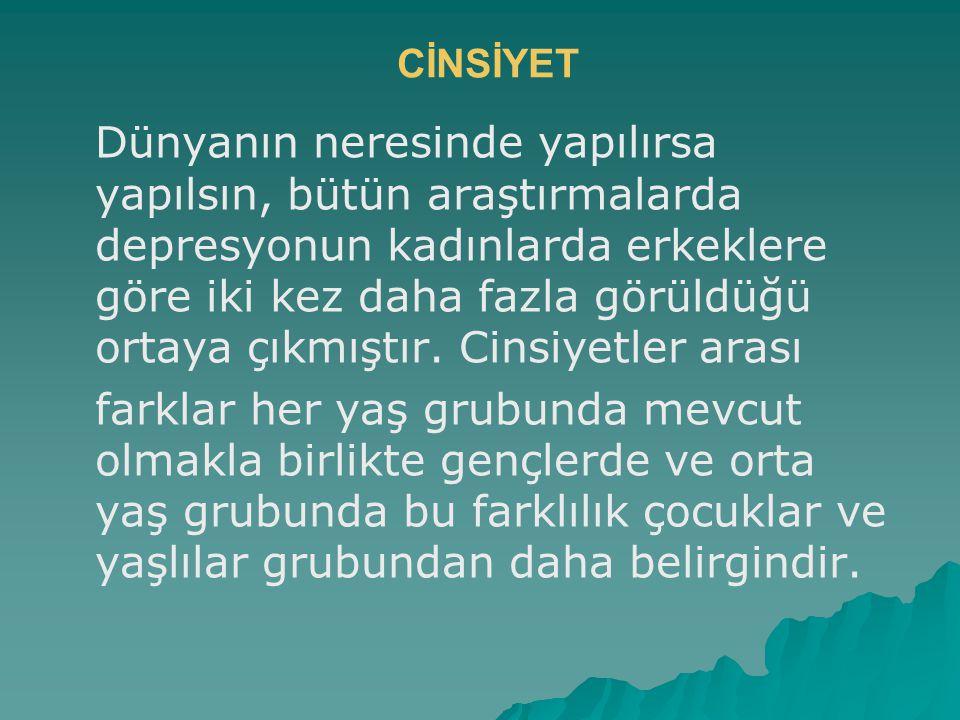 CİNSİYET