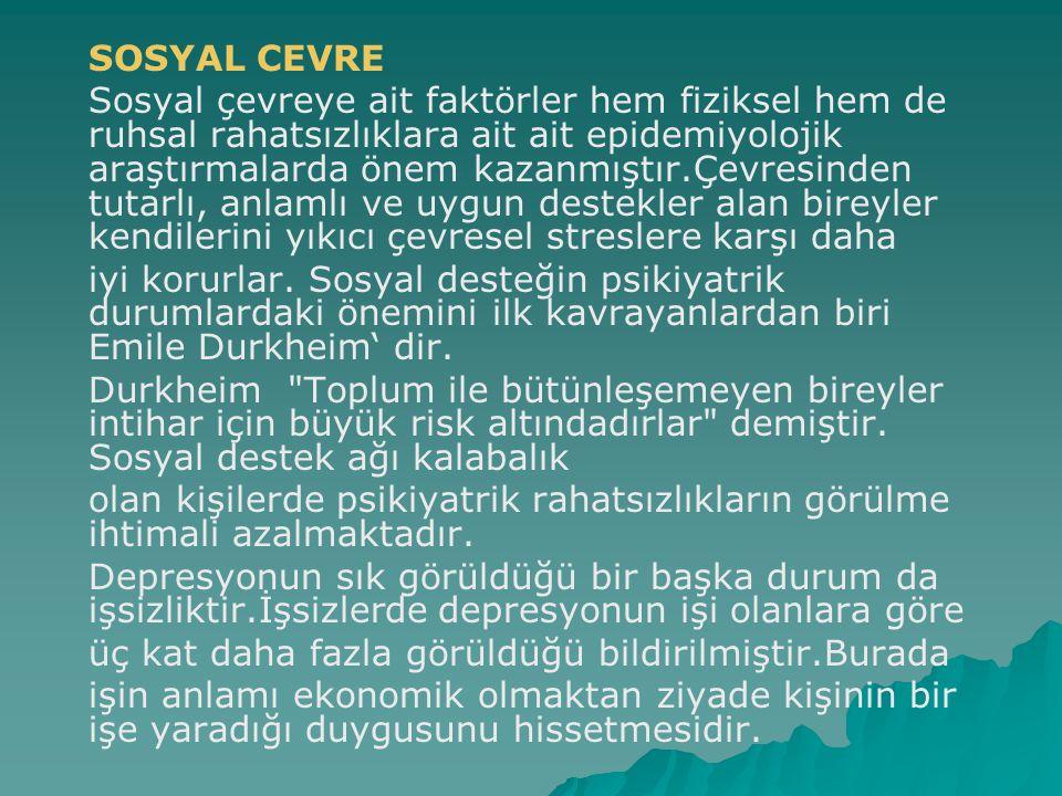 SOSYAL CEVRE