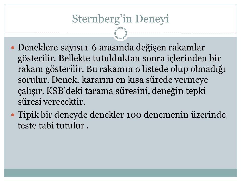 Sternberg'in Deneyi