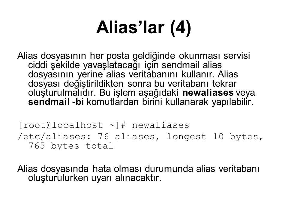 Alias'lar (4)