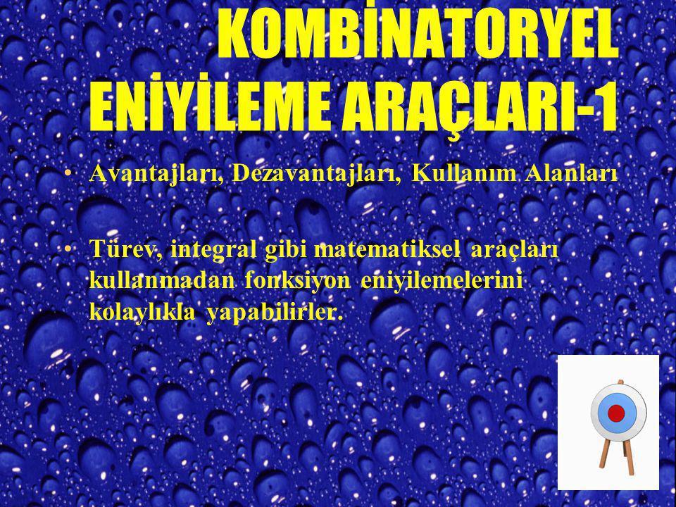 KOMBİNATORYEL ENİYİLEME ARAÇLARI-1