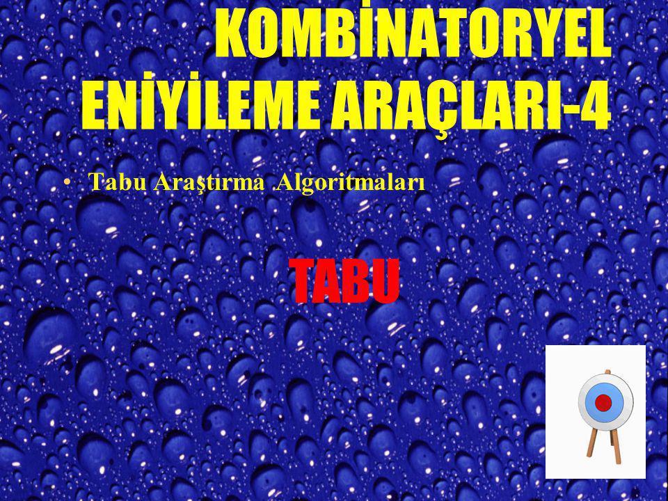 KOMBİNATORYEL ENİYİLEME ARAÇLARI-4