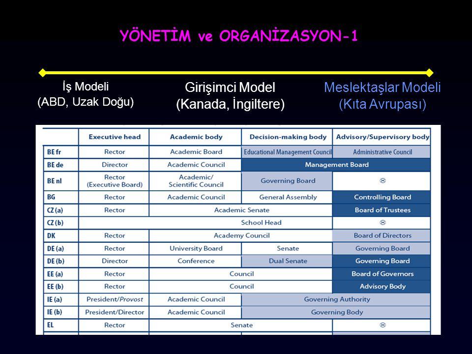 YÖNETİM ve ORGANİZASYON-1