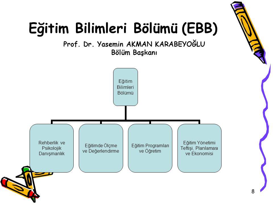 Eğitim Bilimleri Bölümü (EBB)