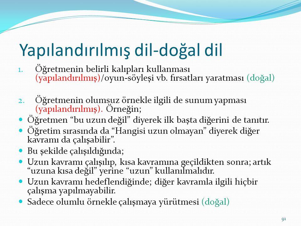 Yapılandırılmış dil-doğal dil