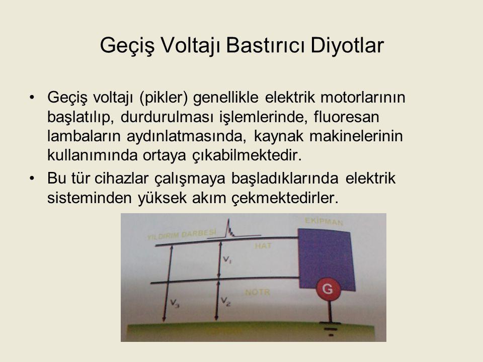Geçiş Voltajı Bastırıcı Diyotlar