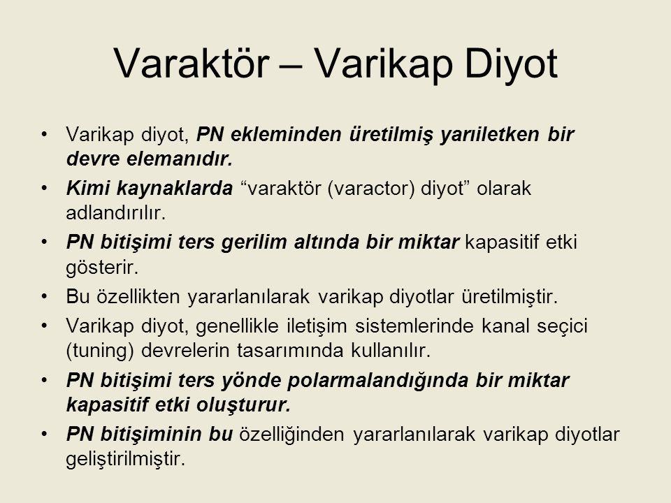 Varaktör – Varikap Diyot
