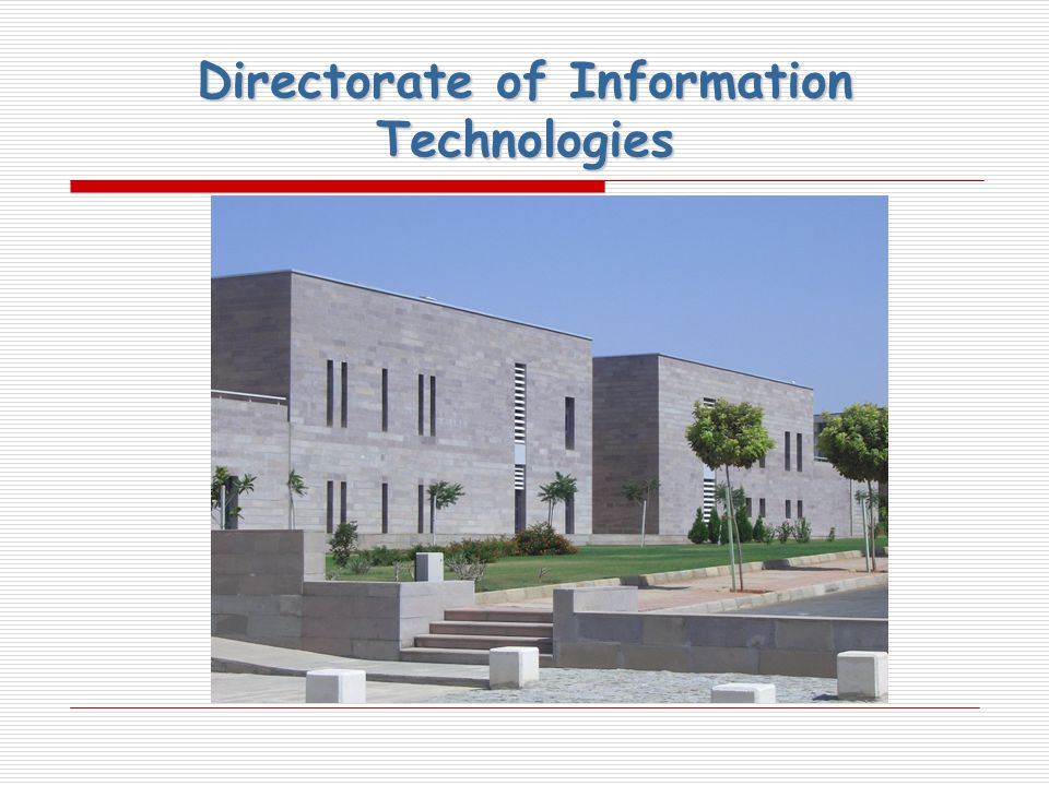 Directorate of Information Technologies