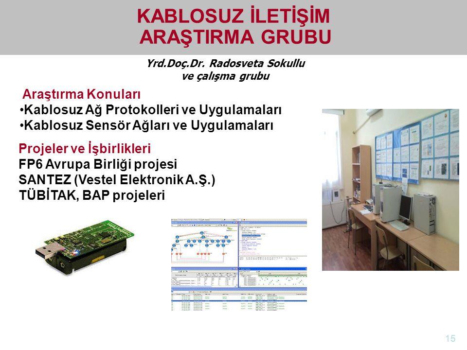 KABLOSUZ İLETİŞİM ARAŞTIRMA GRUBU Yrd.Doç.Dr. Radosveta Sokullu
