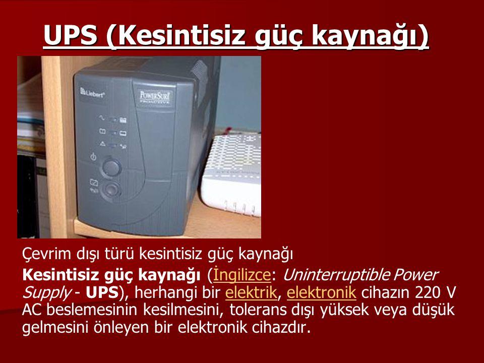 UPS (Kesintisiz güç kaynağı)