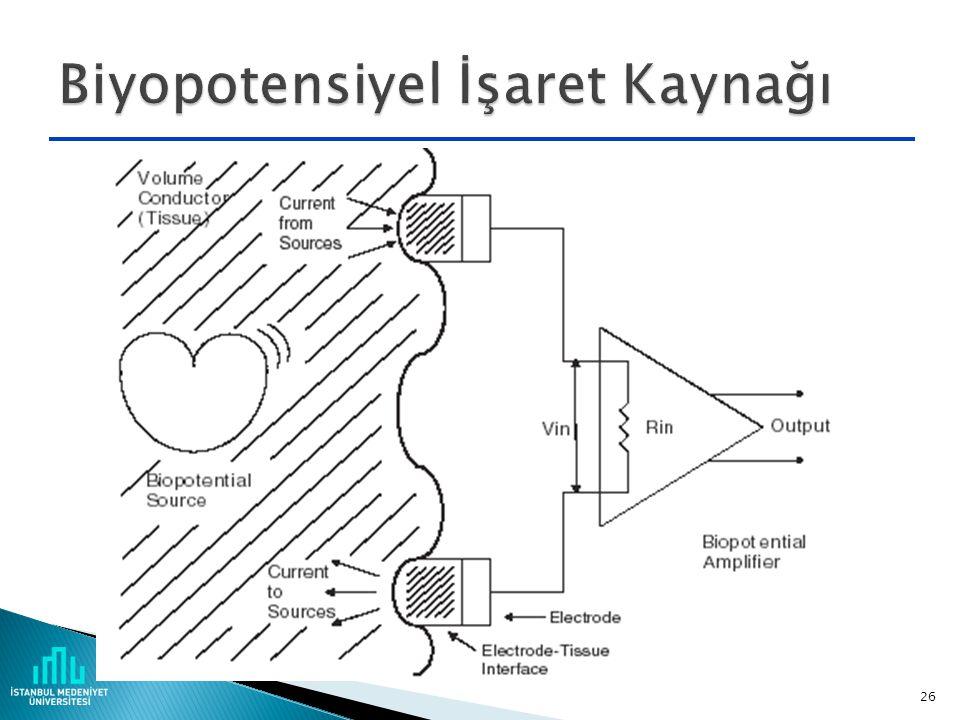 Biyopotensiyel İşaret Kaynağı