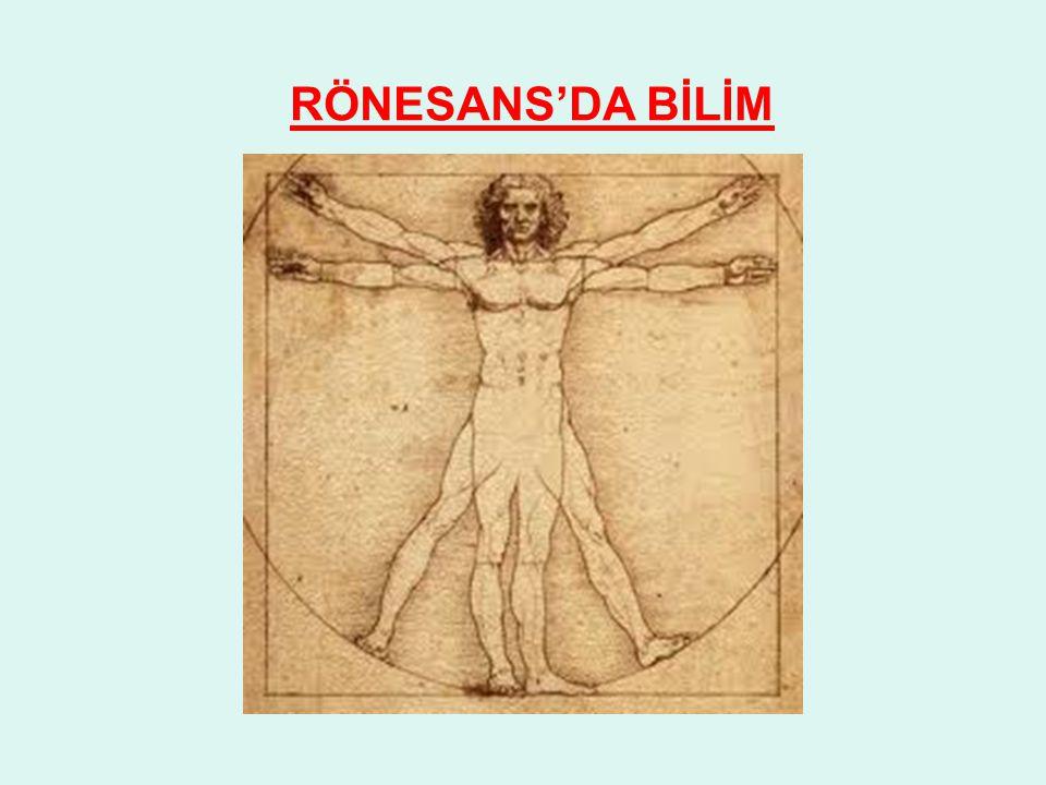 RÖNESANS'DA BİLİM