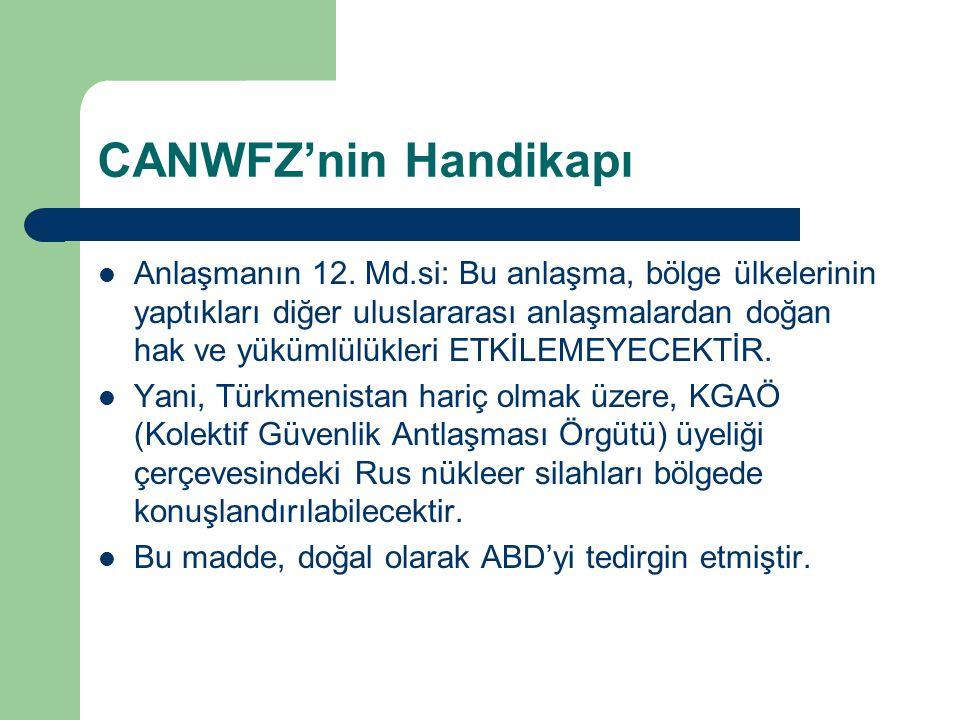 CANWFZ'nin Handikapı