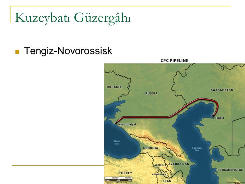 Kuzeybatı Güzergâhı Tengiz-Novorossisk