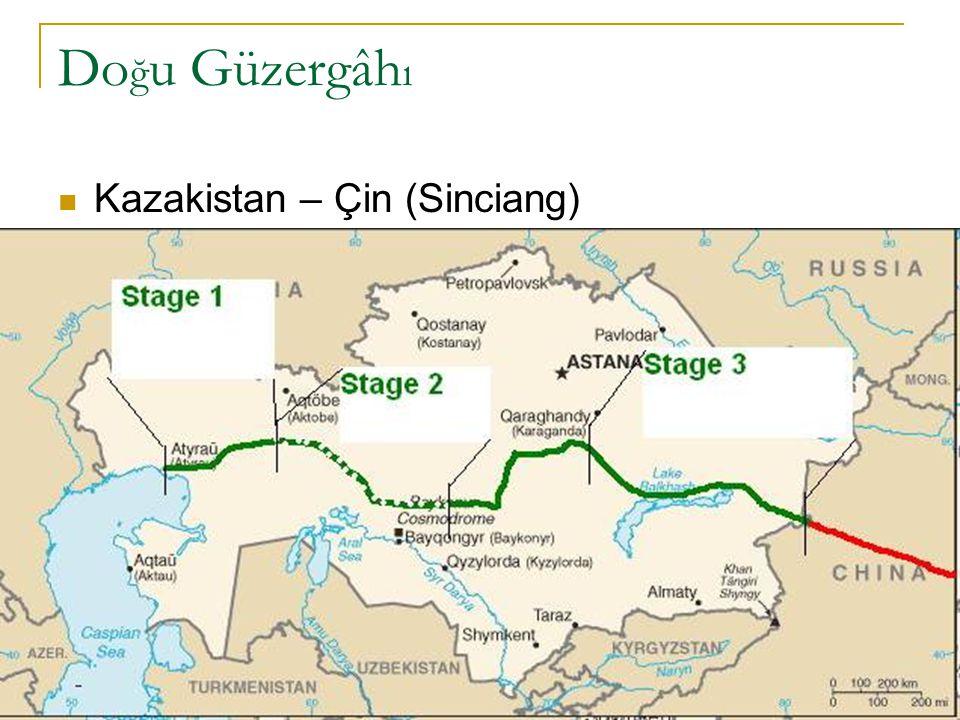 Doğu Güzergâhı Kazakistan – Çin (Sinciang)
