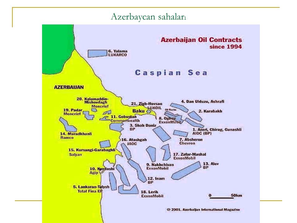 Azerbaycan sahaları