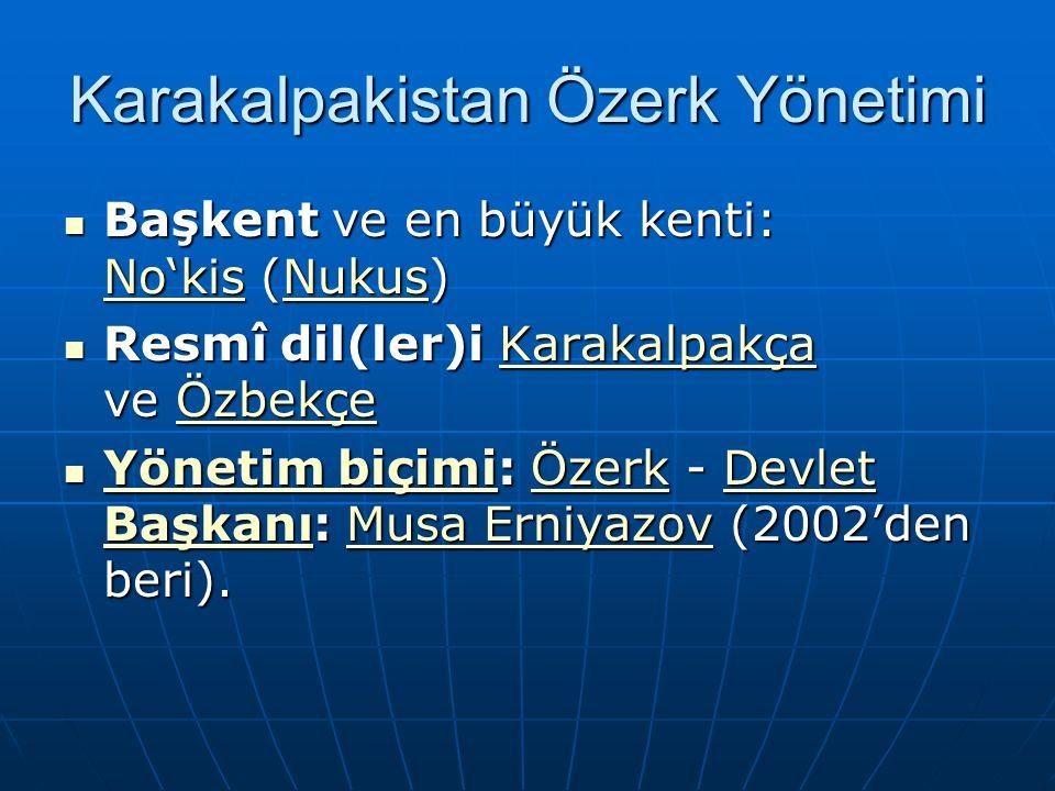Karakalpakistan Özerk Yönetimi