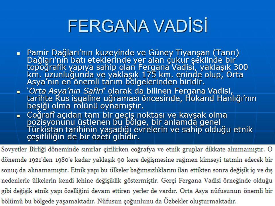 FERGANA VADİSİ