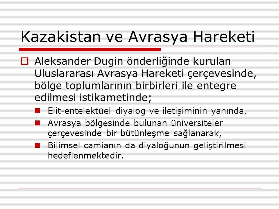 Kazakistan ve Avrasya Hareketi