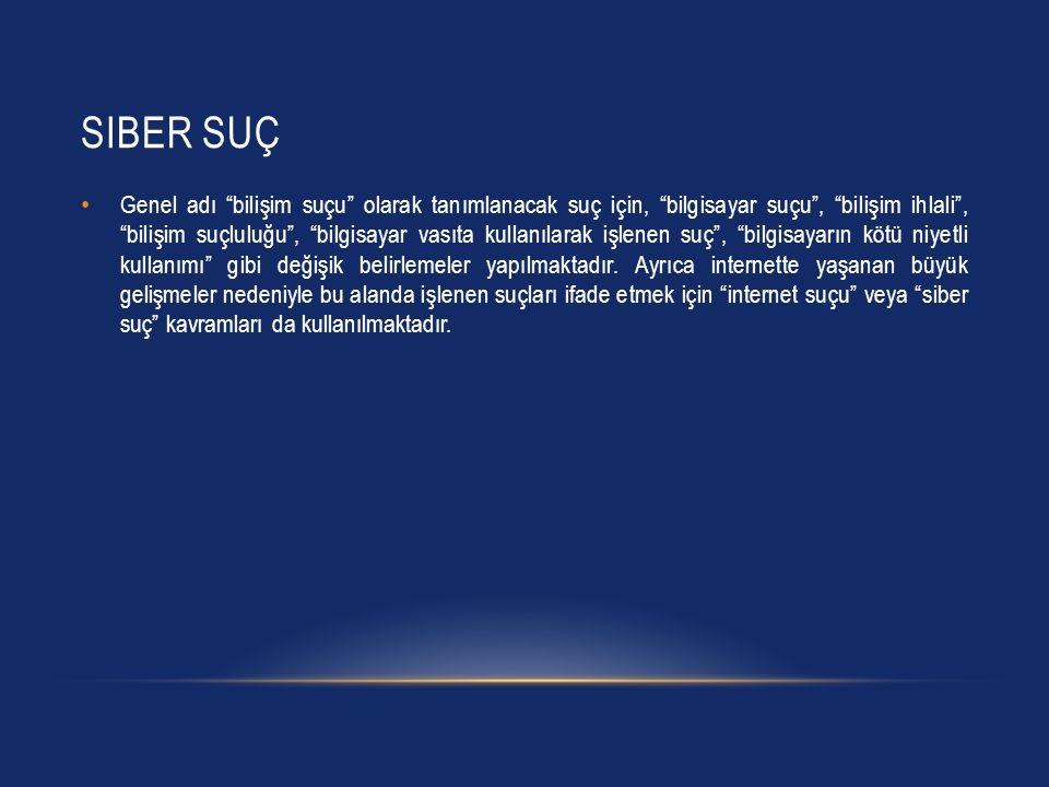 Siber Suç