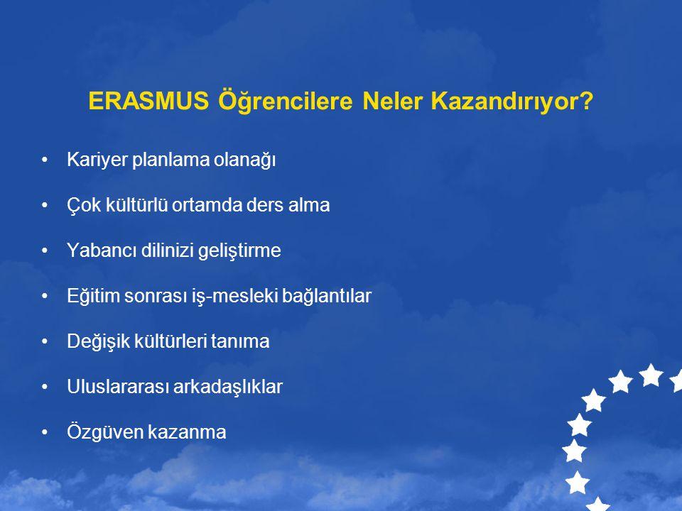ERASMUS Öğrencilere Neler Kazandırıyor
