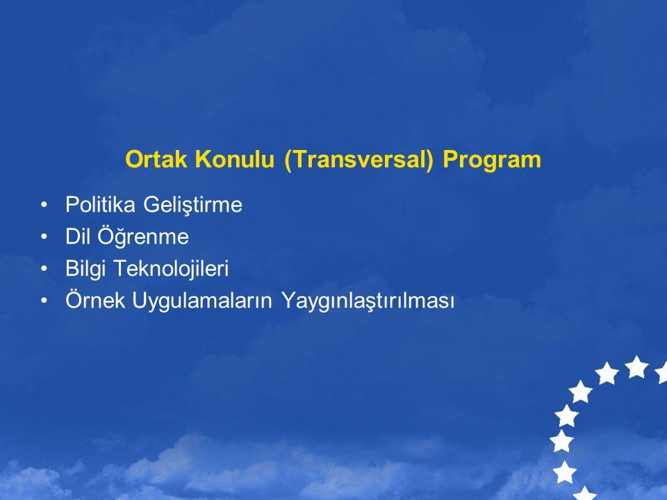 Ortak Konulu (Transversal) Program